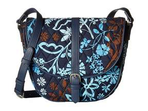 Vera Bradley Slim Saddle Bag Handbags