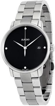 Rado Coupole Classic Diamonds Black Dial Ladies Watch