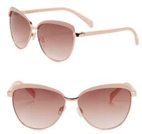 Sam Edelman 64MM Cat Eye Sunglasses
