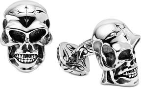 Scott Kay Men's Skull Cuff Links in Sterling Silver