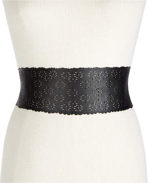 INC International Concepts I.n.c. Perforated Tie-Sash Waist Belt, Created for Macy's