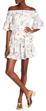 Lucca Couture Emilia Wrap Mini Dress