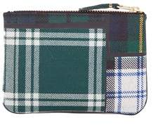 Comme des Garcons Women's Green Fabric Wallet.