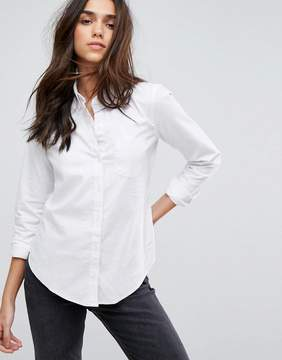 Abercrombie & Fitch Fitted Oxford Shirt