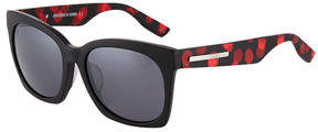 McQ Cat Eye Polka-Dot Plastic Sunglasses