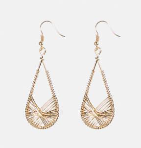 Avenue Wire Teardrop Earrings