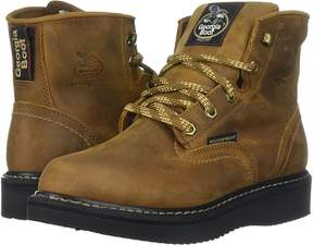 Georgia Boot 6 Waterproof Wedge Men's Work Boots