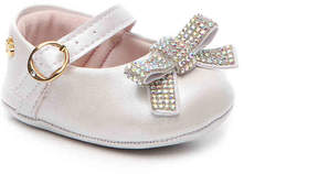 Pampili Girls Nina Infant Mary Jane Crib Shoe
