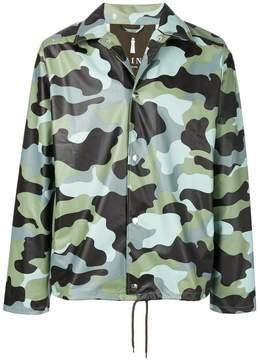 Rains camouflage print jacket