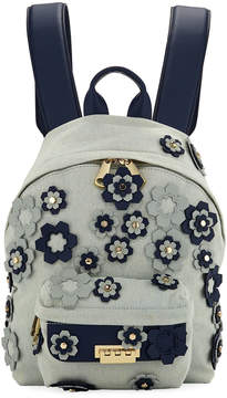 Zac Posen Eartha Iconic Small Floral Backpack