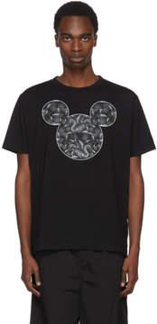 Marcelo Burlon County of Milan Black Disney Edition Mickey Mouse Snake T-Shirt