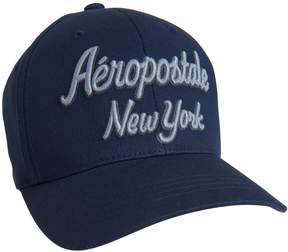 Aeropostale Aero New York Script Fitted Hat