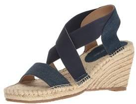 Adrienne Vittadini Footwear Women's Charlene Espadrille Wedge Sandal.