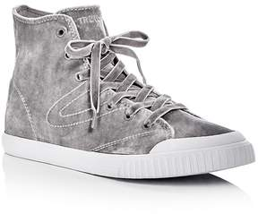 Tretorn Women's Marley Hi4 Velvet High Top Sneakers