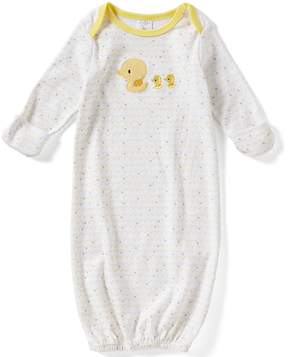 Starting Out Newborn-6 Months Star Print Duck Gown