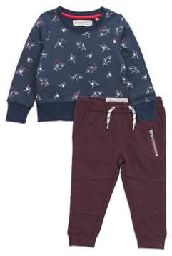 Sovereign Code Baby Boy's Two-Piece Shark Sweatshirt and Jogger Pants Set