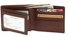 Royce Leather Men's Rfid Blocking Bi-fold With Double Id Flap 110-5.