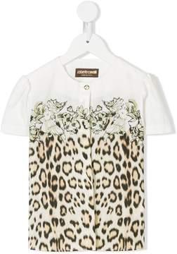 Roberto Cavalli leopard print cardigan