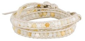 Chan Luu Agate Wrap Bracelet