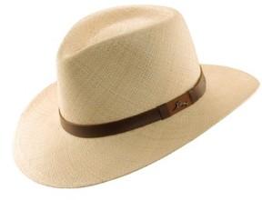 Tommy Bahama Men's Panama Straw Outback Hat - White