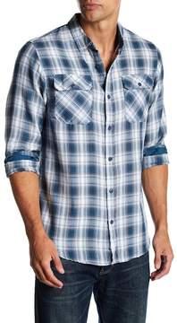 Burnside Long Sleeve Plaid Regular Fit Shirt