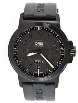 Oris 7641 Black Stainless Steel 42mm Mens Watch