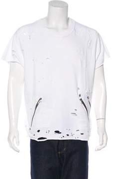 Amiri Shotgun Distressed Sweatshirt