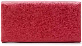 Longchamp flap continental wallet