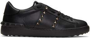Valentino Black Garavani Rockstud Untitled 11 Sneakers