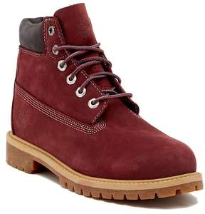 Timberland Premium Waterproof Leather Boot (Little Kid)
