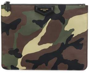 Givenchy camouflage clutch