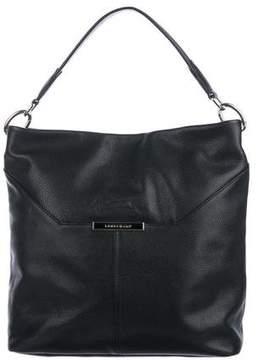 Longchamp Grained Leather Hobo