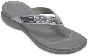 Crocs Capri V Women's Sequin Sandals