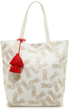 Deux Lux Pineapple Tote Bag