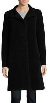 Cinzia Rocca Icons Petite Wool-Blend Walking Coat