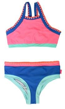 Seafolly 2 Pieces Multicolored Kids Swimsuit Festival Surf.