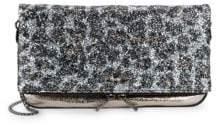 Zadig & Voltaire Rock Glittered Crossbody Bag