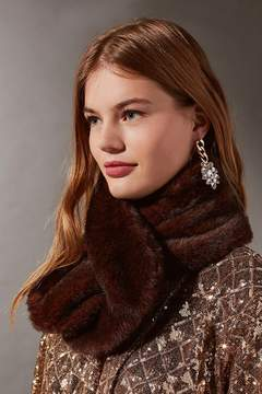 Urban Outfitters Faux Fur Short Stole Scarf