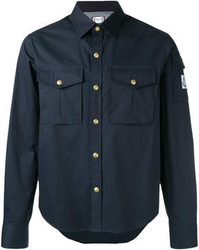 Moncler Gamme Bleu cargo pocket shirt