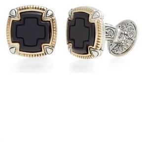 Konstantino Men's Ares Square Cuff Links