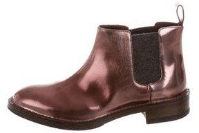 Brunello Cucinelli Metallic Chelsea Boots w/ Tags