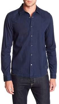 Scotch & Soda Pocket-less Western Shirt