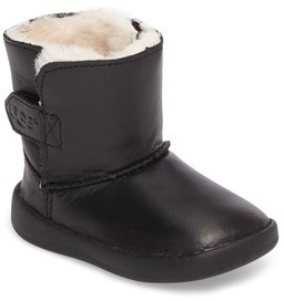 UGG Infant Boy's Keelan Genuine Shearling Leather Bootie