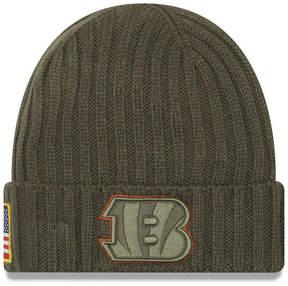 New Era Cincinnati Bengals Salute To Service Cuff Knit Hat