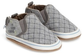 Robeez Toddler Boy's Liam - Cool Dude Crib Shoe