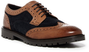 Base London Conflict Contrast Wingtip Derby