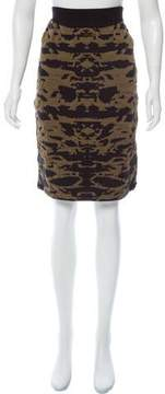Dagmar Patterned Knee-Length Skirt w/ Tags