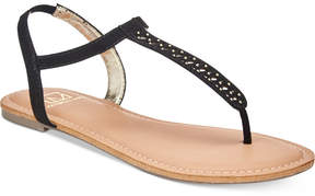 Material Girl Roesia Flat Sandals, Created for Macy's Women's Shoes