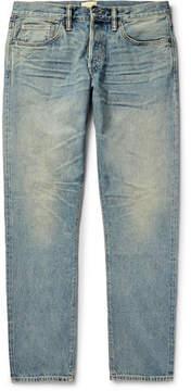 Simon Miller M001 Slim-Fit Washed-Denim Jeans
