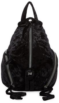 T-Shirt & Jeans Mini Velvet Zip Backpack